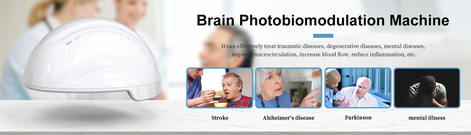 Product Introduction — NIR Brain Photobiomodulation Helmet